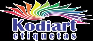 etiqueta adesiva redonda personalizada - Kodiart Etiquetas